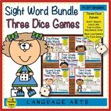 Pre-Primer-3rd Grade Sight Word Dice Games Bundle