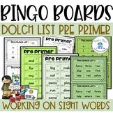 Pre Primer Bingo Boards