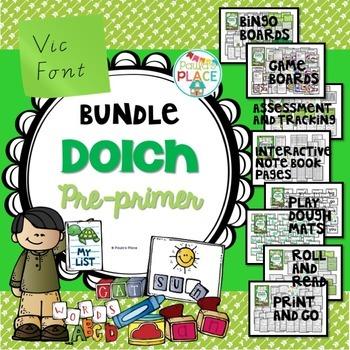 Pre-Primer Bundle (Vic Font)