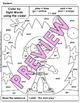 Pre-Primer: Color by Sight Word Sentences - 005