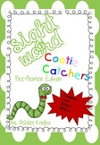 Pre-Primer Cootie Catcher/Flash Cards