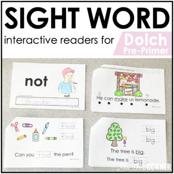 photo about Sight Word Books Printable referred to as Pre-Primer Dolch Sight Term Publications Printable Dolch Sight Phrase Site visitors