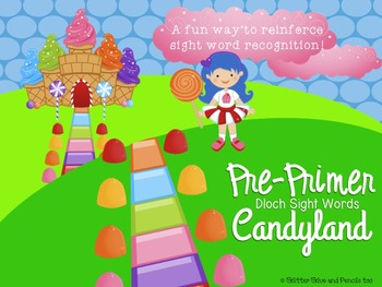 Pre-Primer Dolch Sight Word Candyland