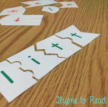 Pre-Primer Dolch Sight Word Puzzles