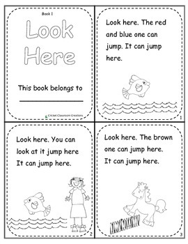 Pre-Primer Dolch Sight Word Reading Books and Workbooks