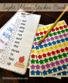 Pre-Primer Dolch Sight Word Sticker Book ~ Reading Puppies
