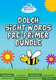 Pre-Primer Dolch Sight Words Bundle