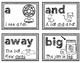 Pre-Primer Dolch Sight Words Sentence Flash Cards With CVC