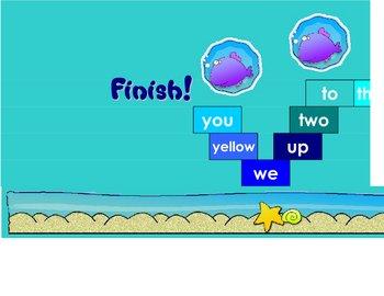 Pre-Primer Dolch Words Board Game