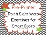 Pre-Primer Dolch word practice (meets Common Core Standards and TEKS)
