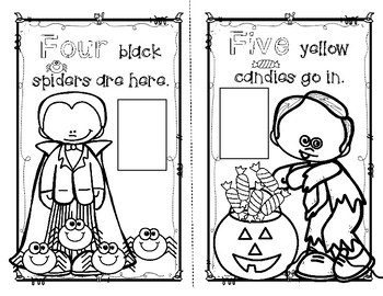 Pre-Primer Interactive Emergent Reader...FREE for Halloween