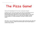 Pre Primer Pizza Party Game