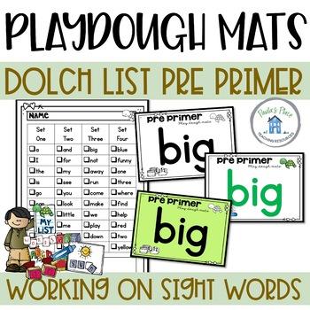 Pre Primer Play Dough Mats