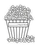 """Pre-Primer """"Popcorn Words"""""""