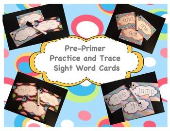 Pre-Primer Practice and Trace