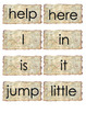 Pre-Primer (Preschool) Dolch Words Flashcards or Word Wall