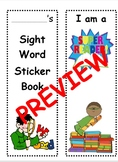 Pre-Primer/Primer Dolch Sight Word Sticker Book