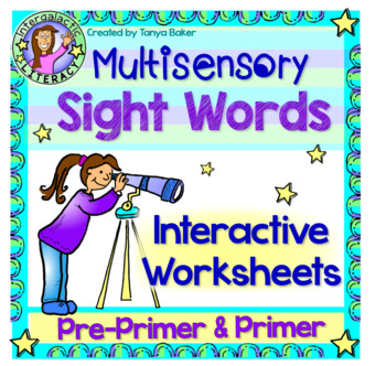 Pre-Primer & Primer  - Interactive Sight Words