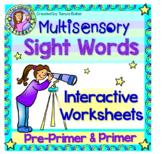 Pre-Primer & Primer  - Interactive Sight Words