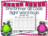 QR Code Literacy Center & Write the Room Activity: Pre-Pri