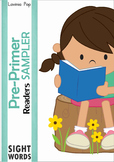 Sight Word Fluency Readers SAMPLER