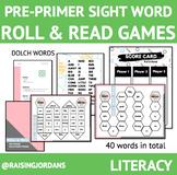 Pre-Primer Roll & Read Games