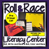 Editable Sight Word Centers for the Pre-Primer Word List