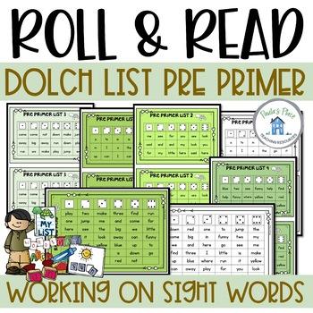 Pre-Primer Roll and Read