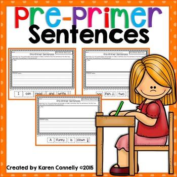 Pre-Primer Sentences