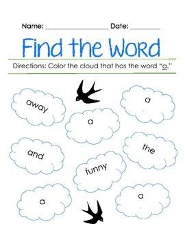 Pre-Primer Sight Vocabulary Complete Activity Book
