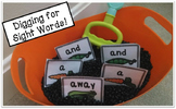 Pre-Primer Sight Word Activities (Sensory Tub, Memory Game, & More!)