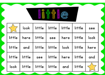 Pre-Primer Sight Word Activity Bundle