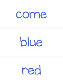 Pre-Primer Sight Word BUNDLE + 2 FREEBIES