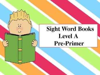 Pre-Primer Sight Word Books (Set of 15 books)