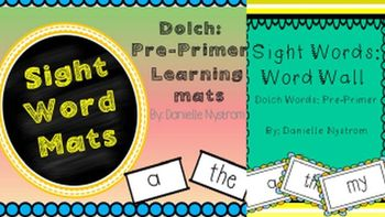 Pre-Primer Sight Word Bundle