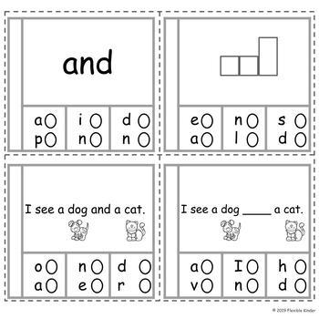 Pre-Primer Sight Word Bundle