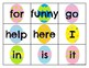 Pre Primer Sight Word Cards Easter