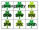 Primer Sight Word Cards Saint Patrick's Day