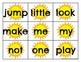 Pre Primer Sight Word Cards Summer