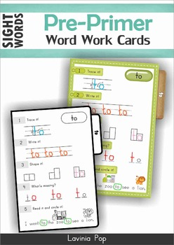 Sight Word Centers SAMPLER