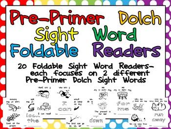 Pre-Primer Sight Word Emerg... by Melissa Williams | Teachers Pay ...