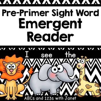Pre-Primer Sight Word Emergent Reader (I, see, the)