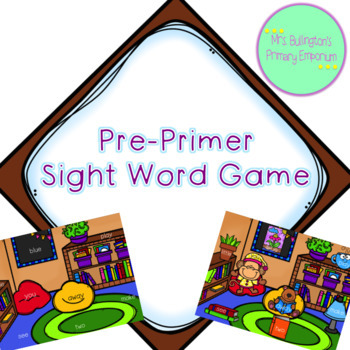Pre-Primer Sight Word Game