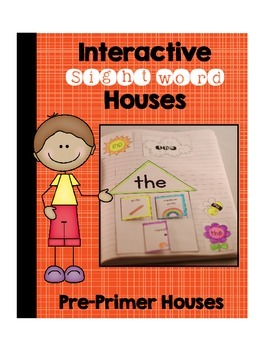 Pre-Primer Sight Word Houses