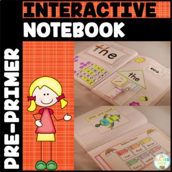 Sight Word Interactive Notebook Bundle: Pre-Primer