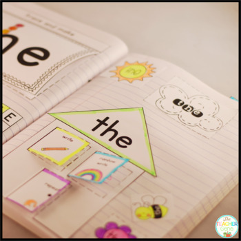 Sight Word Interactive Notebook Bundle: Pre-Primer