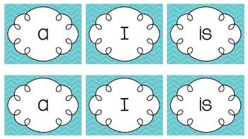 Pre-Primer Sight Word Memory Game