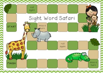 """Pre-Primer"" Sight Word Pack"