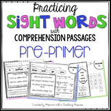 Pre-Primer Sight Word Passages