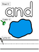 Pre Primer Sight Word Play Doh Stamp Mats